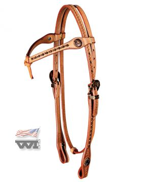 Westernimports old style harness headstall